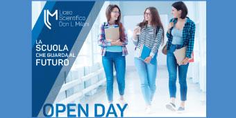 Open DAY. Scopri l'offerta formativa